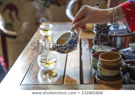 chinese tea ceremony stock photo © szefei