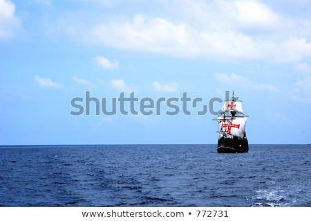 portuguese galleon Stock photo © smithore