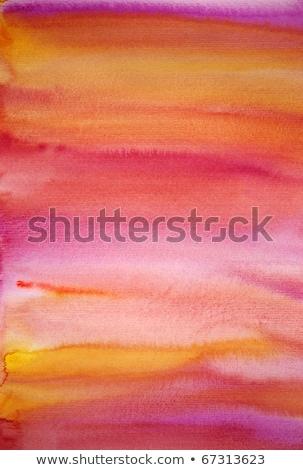 красочный акварель мне бумаги кадр Сток-фото © ilolab