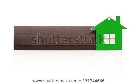 domu · odizolowany · biały · dom · biały · domu - zdjęcia stock © inxti