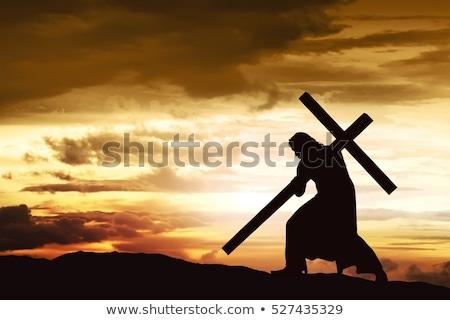 carrying the cross stock photo © mayboro