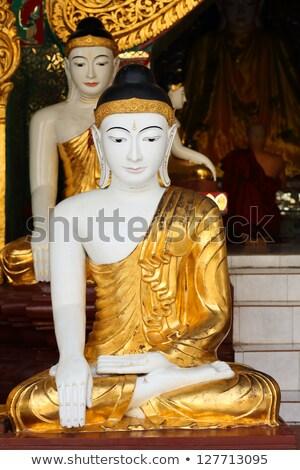 Buda pagoda Myanmar ciudad urbanas Asia Foto stock © travelphotography