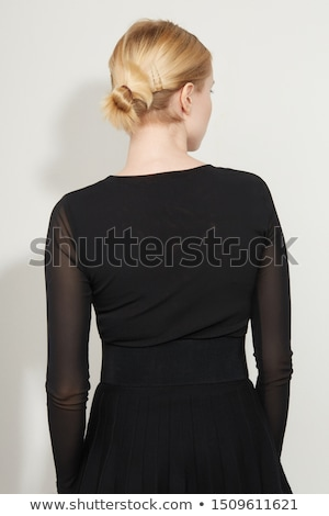 Business Woman Pulling Her Sleeve Stock photo © eldadcarin