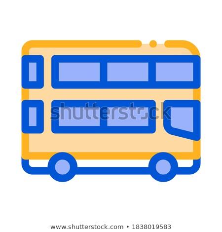 vecchio · stile · città · bus · turistica · coach - foto d'archivio © leonido