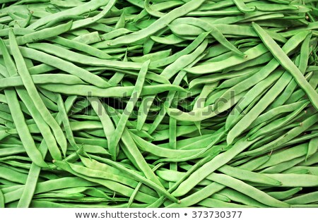 green beans vegetable texture in Spain market Stock photo © lunamarina