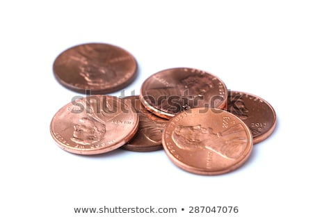 Penny isolated on white Stock photo © sqback