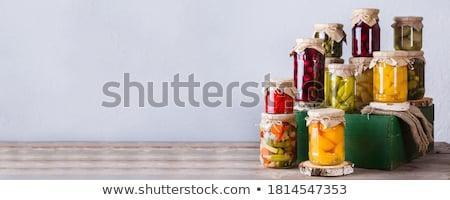 assortment of compote Stock photo © M-studio