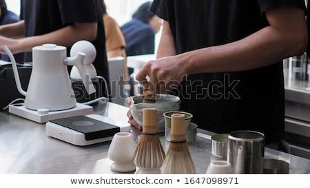Chá ferramenta naturalismo erva médico Foto stock © jarp17