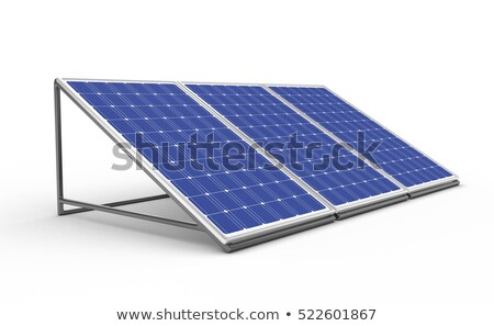 Isolated Solar Panel Сток-фото © Fotovika
