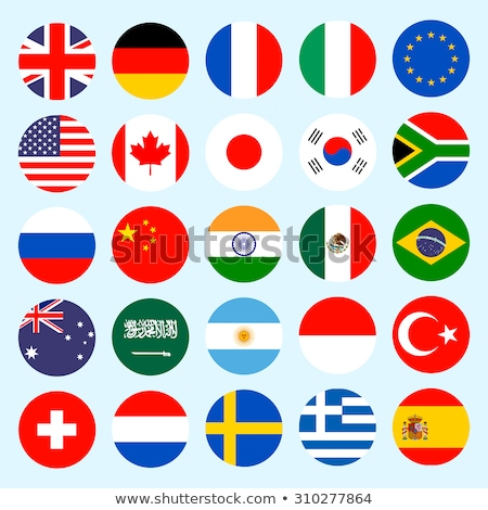 flag icon web button russia Stock photo © mizar_21984