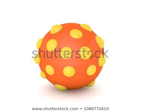 3D perro pelota cachorro alegre juego Foto stock © karelin721