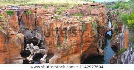 river at the bourkes potholes in south africa stock photo © compuinfoto