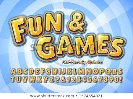 楽しい · ゲーム · 3D · 生成された · 画像 · カジノ - ストックフォト © flipfine