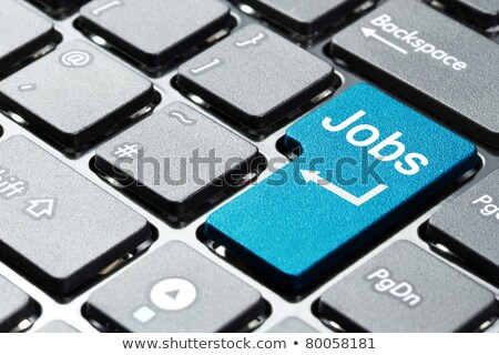 job offer on red keyboard button stock photo © tashatuvango