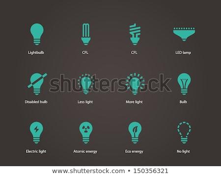 light bulbs collection Stock photo © tiero