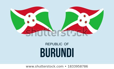 mapa · Burundi · bandeira · textura · projeto · assinar - foto stock © mayboro1964