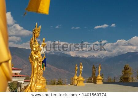 богиня статуя архитектура китайский Азии Сток-фото © tangducminh