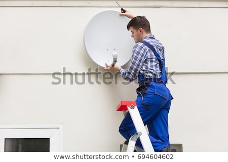 TV antenna Stock photo © tilo