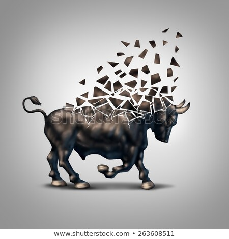 Fragile Bull Market Stock photo © Lightsource