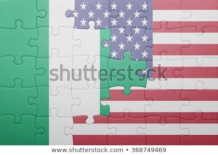 USA and Nigeria Flags in puzzle Stock photo © Istanbul2009