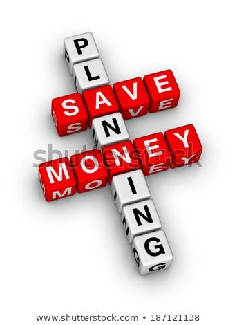 belasting · Rood · witte · geld · financiële - stockfoto © tashatuvango