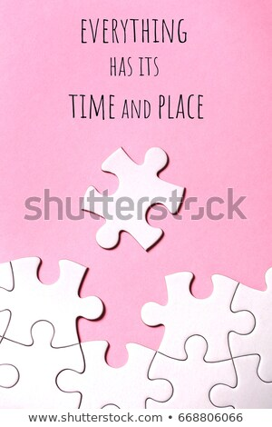 Bonds - Puzzle on the Place of Missing Pieces. Stock photo © tashatuvango