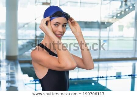 uygun · kadın · havuz · boş - stok fotoğraf © wavebreak_media