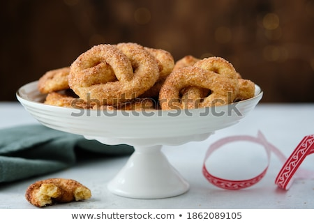 Stock photo: Yummy pretzels.