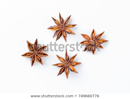 Food background with star anise  Stock photo © dariazu