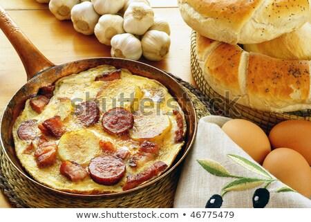 картофель · лоток · здоровья · ресторан - Сток-фото © kotenko
