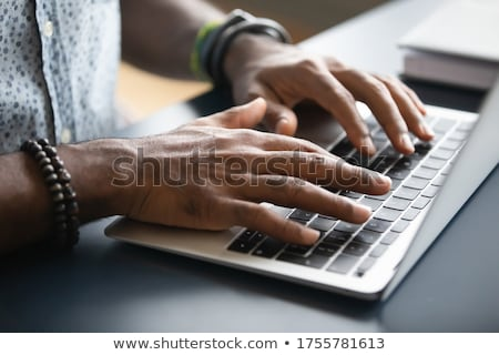 businessman typing Stock photo © Istanbul2009