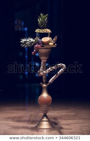 Wooden Hashish Pipe Stock photo © PetrMalyshev