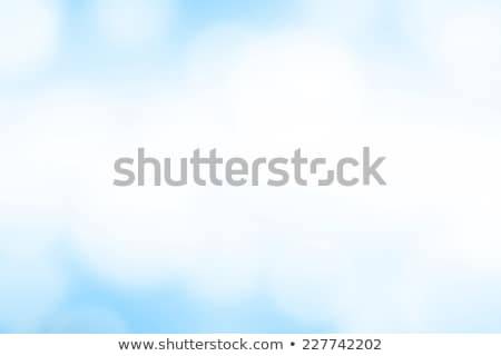 light blue abstract gradient bokeh background stock photo © saicle