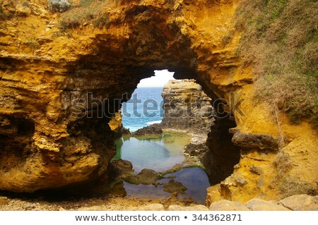 арки порта парка океана дороги Сток-фото © artistrobd