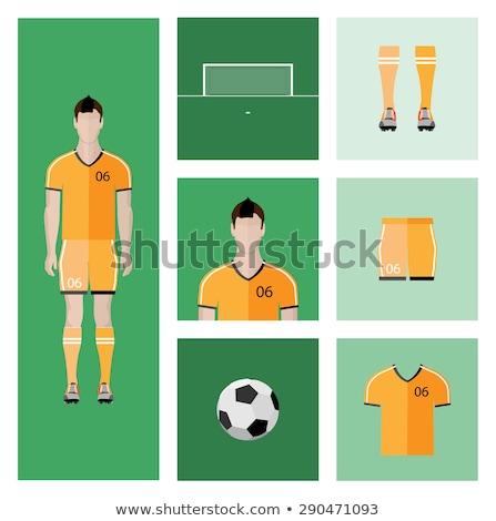 Vetor avatar humanismo cabeça futebol perfil Foto stock © adrian_n