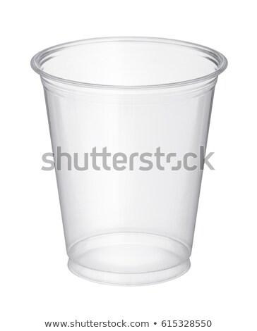 koffie · beschikbaar · papier · plastic · glas · geïsoleerd - stockfoto © bluering