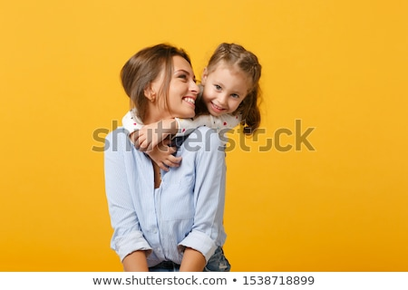 Mother and child, care concept Stock photo © carenas1