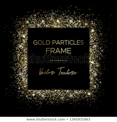 point of golden sparkles vector light effect Stock photo © SArts