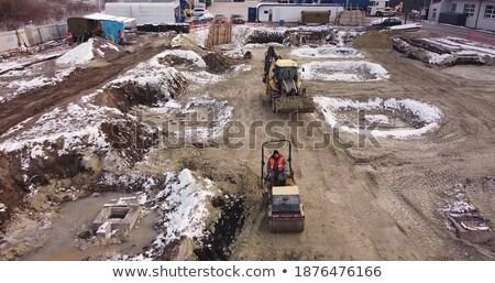construction transport skating rink stock photo © oleksandro