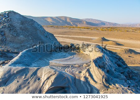 Mud volcano eruption Stock photo © blanaru