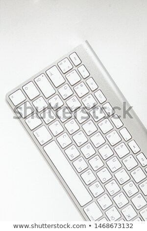 web design tools concept person click keyboard button stock photo © tashatuvango