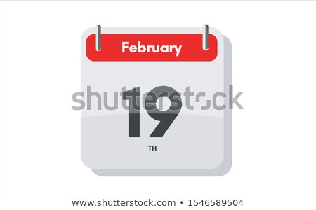 19th february stock photo © oakozhan