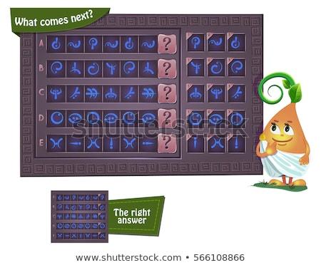 juego · próximo · educativo · ninos · adultos · desarrollo - foto stock © olena