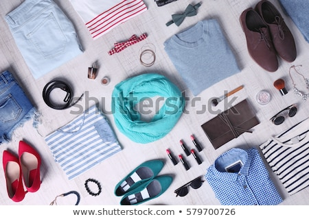 man and woman in clothing store Stock photo © IS2
