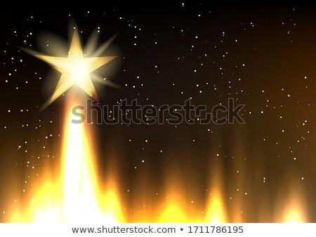 Hollywood estrellas crecimiento creciente despegue dorado Foto stock © romvo