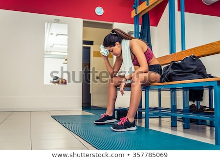 room for changing clothes after workout and fitness stock photo © ruslanshramko