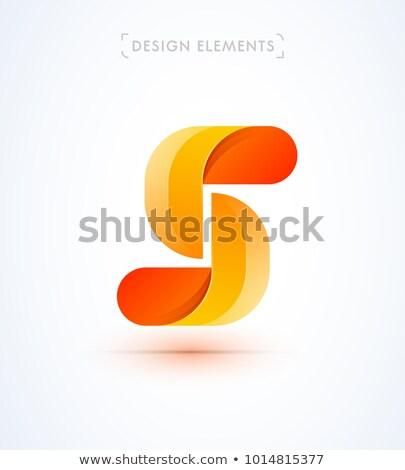 番号 5 ロゴ アイコン 手紙 セット ストックフォト © blaskorizov