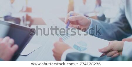 クローズアップ · コンピュータの画面 · 金融 · データ · 経済の · バー - ストックフォト © andreypopov