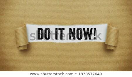 most · krétarajz · üzlet · idő · fekete · tábla - stock fotó © zerbor