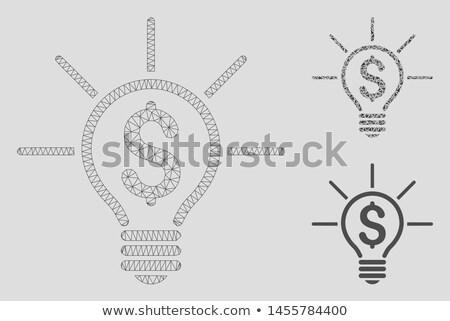 bliksem · vector · maat · gemakkelijk · verandering - stockfoto © netkov1